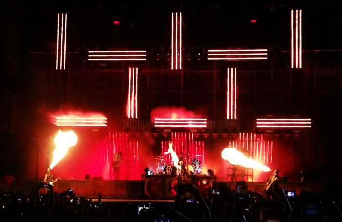 Rammstein performs live at Chicago Open Air 2016 at Toyota Park in Bridgeview, IL