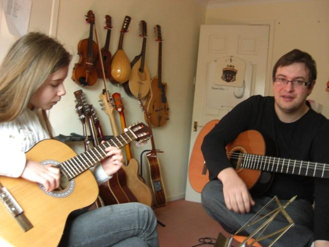 A good music teacher can nurture good musicians