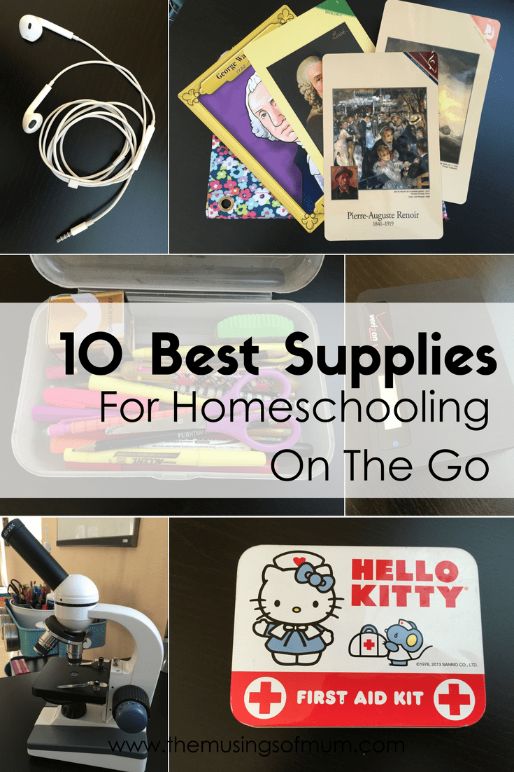 10 Best Supplies For Homeschooling On The Go