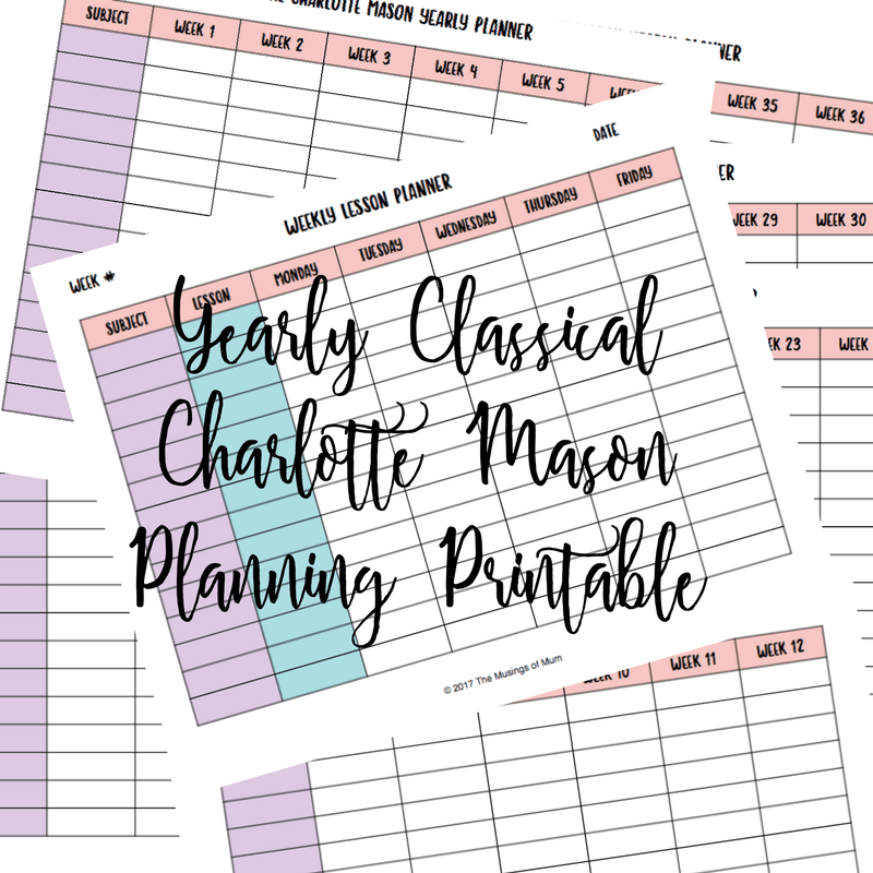 Classical Charlotte Mason Homeschooling & Resources