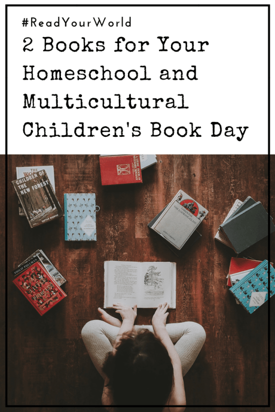 2 Books for Your Homeschool and Multicultural Children's Book Day - Teaching our children about different cultures has always been a priority for my husband and myself. I was super excited when I heard about the annual Multicultural Children's Book Day, and we're thrilled to be a part of it for the second year in a row.
