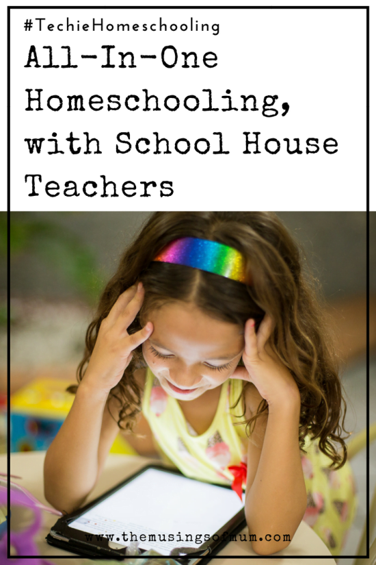 All-In-One Homeschooling, with School House Teachers - At first glance, School House Teachers was only going to serve the purpose of supplementing anything we needed, however the more we use it, the more it's obvious you can pretty much use what's available online and call it a day.