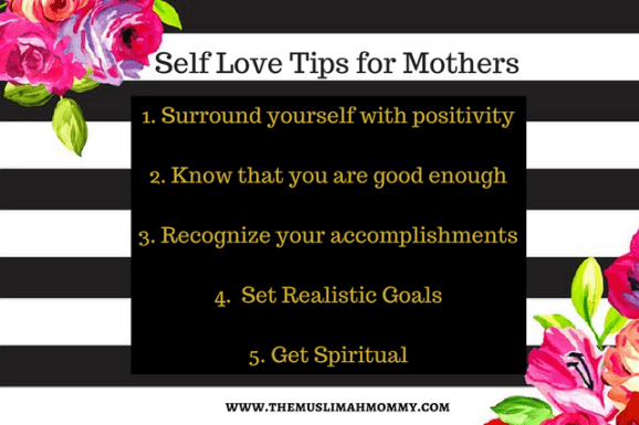 Tips on how mothers can practice self love
