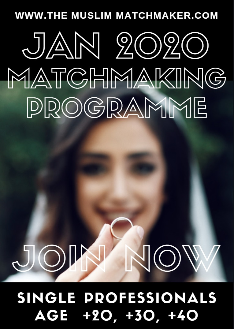 muslim marriage events, the muslim matchmaker