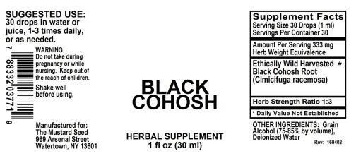 4003771 Black Cohosh Liquid Extract
