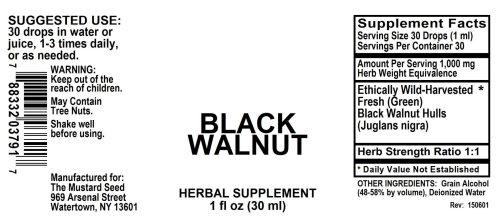 4003791 Black Walnut Green Liquid Extract ALLERGEN