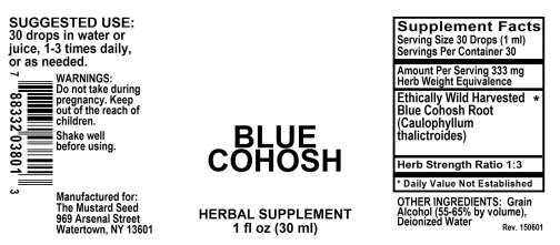 4003801 Blue Cohosh Liquid Extract