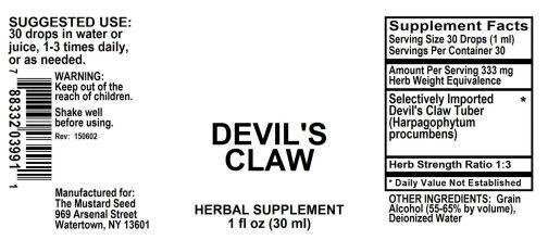 4003991 Devils Claw Liquid Extract