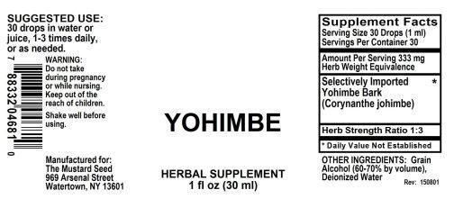 4004681 Yohimbe Liquid Extract