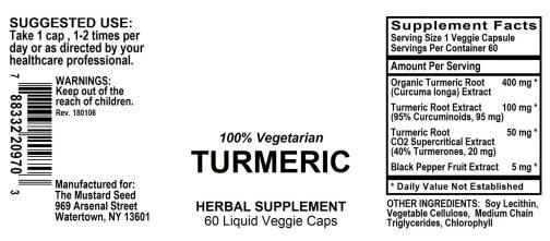 4020970 Turmeric Liquid Capsules