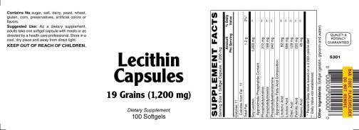 Lecithin Capsules 100ct 1