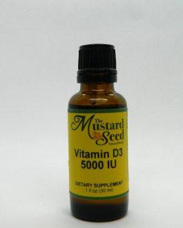 Liquid Vitamin D3 5000 IU