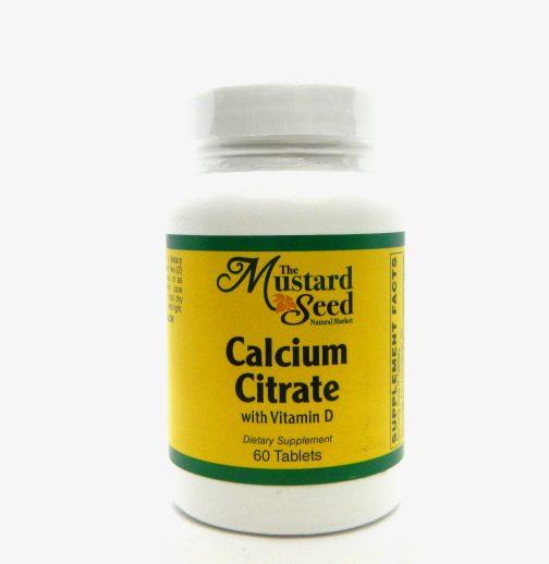 MS calcium citrate