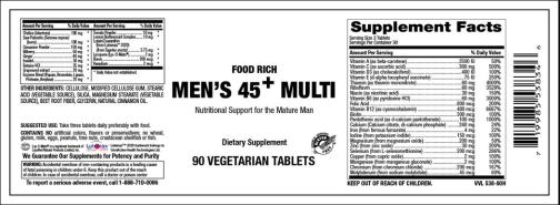 Mens 45 vitamer