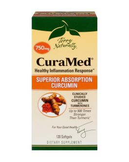 Terry Naturally CuraMed 750mg 120 softgels