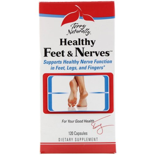 healthy feet and nerves front 120ct