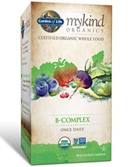Garden of Life Mykind B Complex Once Daily