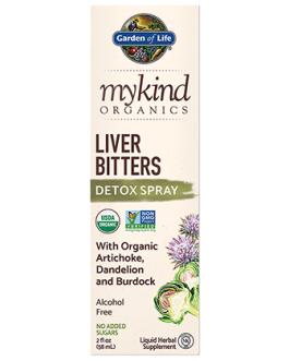 Garden of Life Mykind Liver Bitters Detox Spray