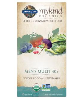 Garden of Life Mykind Men's 40+ Multi