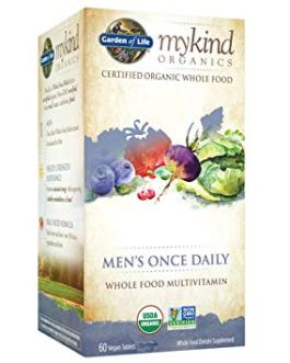 Garden of Life Mykind Men's Once Daily