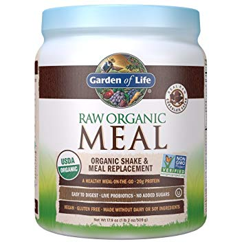Raw Meal Small Choc Front