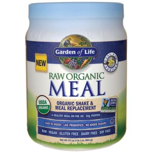 Raw Meal Small Vanilla Front