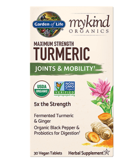 Garden of Life Mykind Maximum Strength Turmeric (Joints & Mobility)