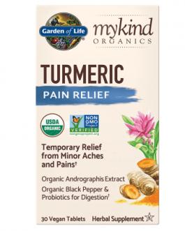 Garden of Life Mykind Turmeric Pain Relief