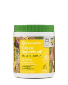 Amazing Grass Green Superfood Multivitamin (Pineapple Lemongrass)