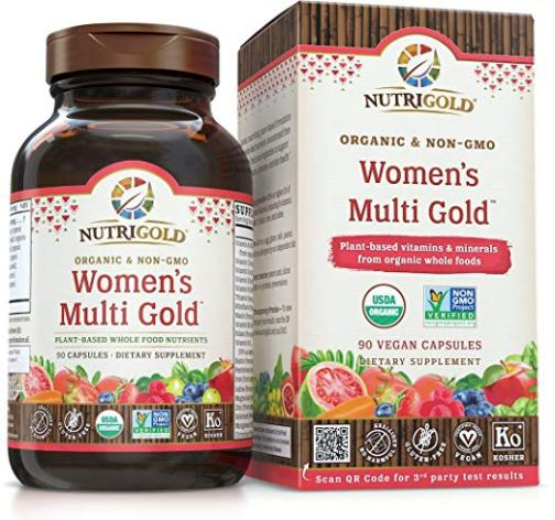 Womens Multi Gold Front