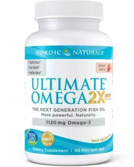 Nordic Naturals Ultimate Omega 2X Minis