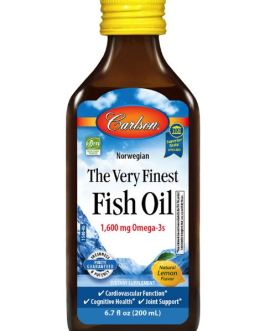 Carlson's Very Finest Fish Oil (Lemon)