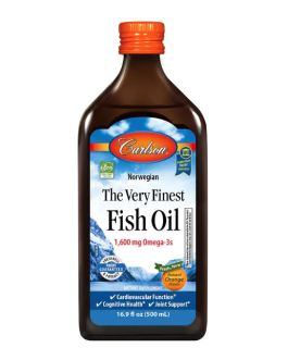 Carlson's Very Finest Fish Oil (Orange)
