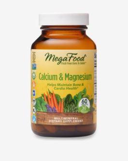 MegaFood Calcium & Magnesium
