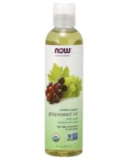 Now Organic Grapeseed Oil