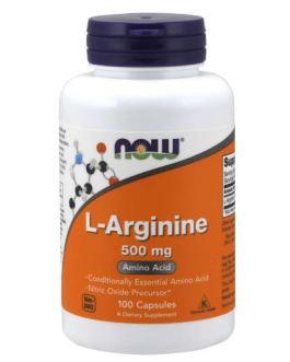 Now L-Arginine 500 mg
