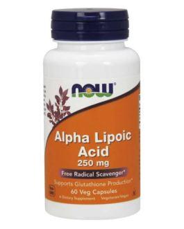 Now Alpha Lipoic Acid 250mg