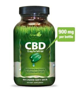 Irwin Naturals CBD Oil (15mg)