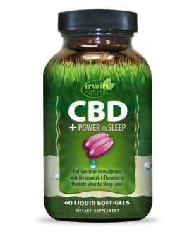 Irwin Naturals CBD Oil + Power to Sleep