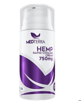 Medterra Rapid Cooling Cream (750mg)