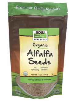 Now Alfalfa Sprouting Seeds
