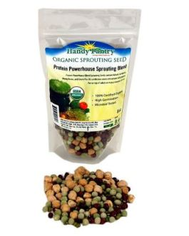 Handy Pantry Protein Powerhouse Sprouting Seeds