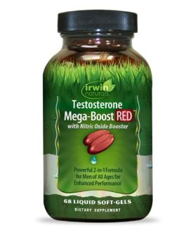 Irwin Naturals Testosterone Mega-Boost RED