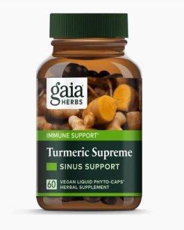 Gaia Turmeric Supreme Sinus Support