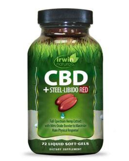 Irwin Naturals CBD + Steel-Libido RED