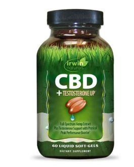 Irwin Naturals CBD + Testosterone UP
