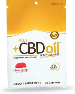 CV Sciences CBD Oil Gummies (Cherry Mango)