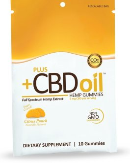 CV Sciences CBD Oil Gummies (Citrus Punch)