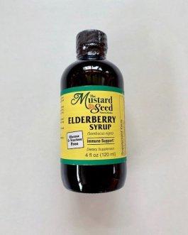 Mustard Seed Elderberry Syrup