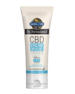 Garden of Life CBD Cooling Rescue Cream